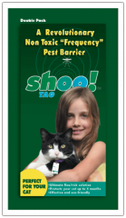 Shoo!TAG Cat Flea/Tick - Double Pack