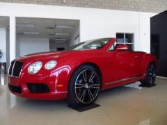 2013 Bentley Continental V8 GTC Convertible Car