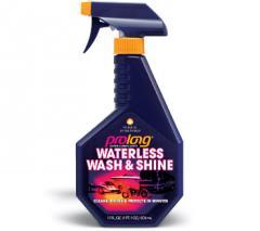 Waterless wash & shine
