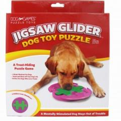 Dog Toy Puzzle – Jigsaw Glider with Hidden Treat