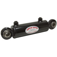 Swivel ball end cylinder