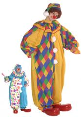 Printed Clown DC0201costume