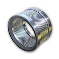 Formed metal bellows seal