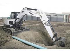 Bobcat® E80 compact excavator