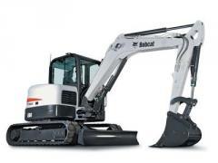 Bobcat® E60 compact excavator
