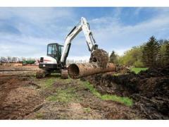 Bobcat® E55 conventional tail swing compact