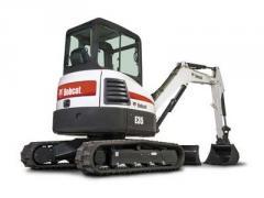 E35 zero tail swing (ZTS) compact excavator