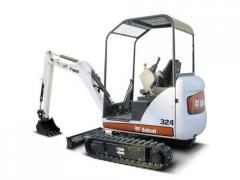 324 compact excavators