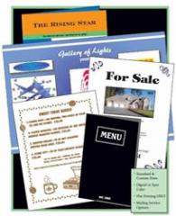 Sell Sheets and Brochures
