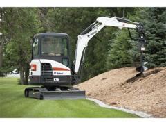 Bobcat® E26 compact excavator