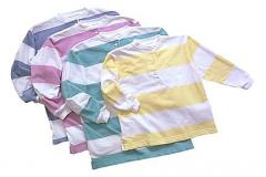 Girls Stripe French Terry Henly