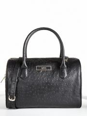 Ostrich Leather Satchel Bag