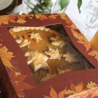 Autumn Design Pie Boxes