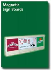 Magnetic Sign Boards