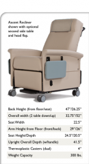 Standard Medical Recliners / Power Recline Ascent