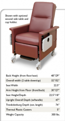Standard Medical Recliners / Power Recline 54