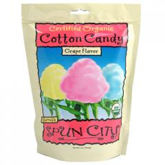Organic Cotton Candy - Grape