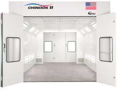 Chinook II™, from Garmat® USA, is a pit-less