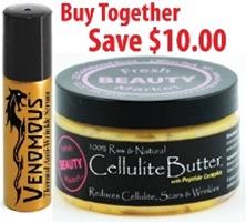 Cellulite Butter & Venomous Serum Deal