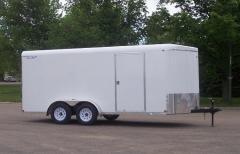 V-Nose Tandem Axle Cargo Trailer