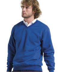 Jerzees Adults V Neck Sweatshirt