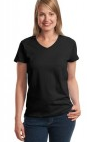 Ladies ComfortSoft® V-Neck T-Shirt