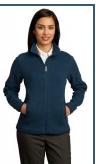 Ladies Sweater Fleece Full-Zip Jacket