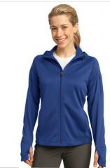 Ladies Tech Fleece Full-Zip Hooded Jacke