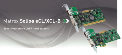 Matrox Solios eCUXCL-B is a Camera Link® frame