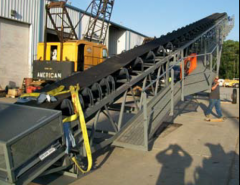 2010 Pit Portable Radial Stacker North Star