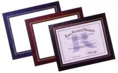 Leatherette Frames
