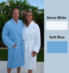 Terry Shawl Collar Robe 14 oz S-XX 100% Cotton