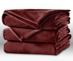 Microplush Blanket - Raisin