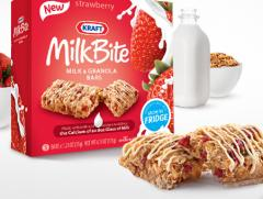 Strawberry Kraft Milkbite Milk & Granola