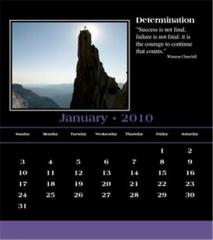 Attributes Calendar