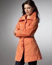 Rainforest Ruched Coat