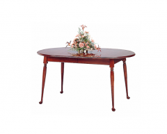 Charming Fayette Oval Cherry Dining Table