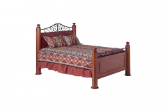 Frederick Cherry Panel Bed