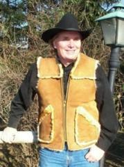 Kidney Flap Sheepskin Vest