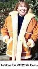 Womens / Mens Country Marlboro Shearling Coat