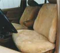 Super Fit Sheepskin Seat Covers