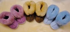Baby Sheepskin Snuggies Slippers