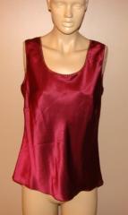 Draper's & damon's red wine silk