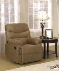Brown Finish Recliner