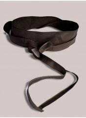 Plus Size Obi Belt in Brown