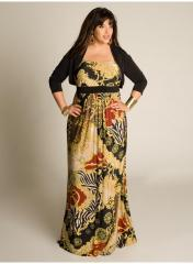 Janna Plus Size Maxi Dress