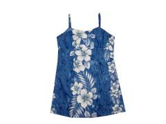 Girls Blue Hawaiian Dresses
