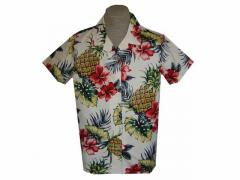 Womens Creme Shirts with Pineapples