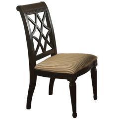Fret-back Side Chair