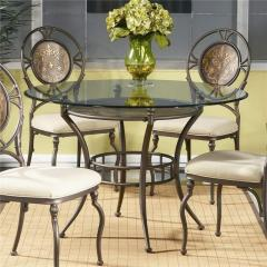 Cameo Glass Table and Chair Set